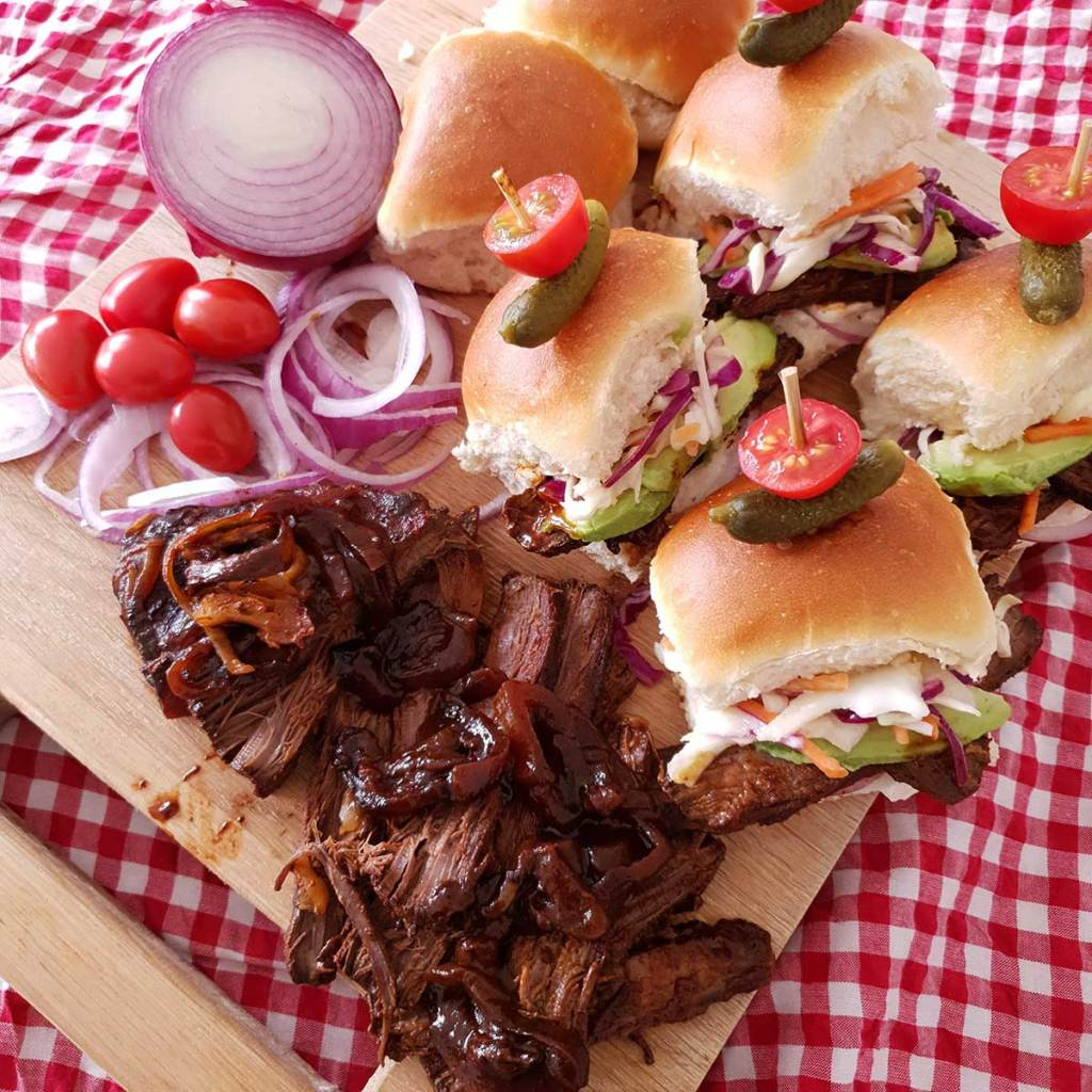 Beef Brisket Sliders Recipe