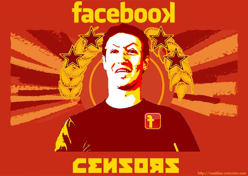 Resultado de imagen de facebook censored