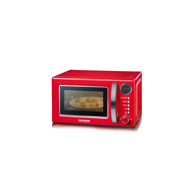 micro ondes severin grill 20l 700w grill1000w rouge