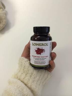 Lowerol bottle
