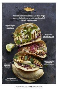 Australis Barramundi Taco Strips 2017 July