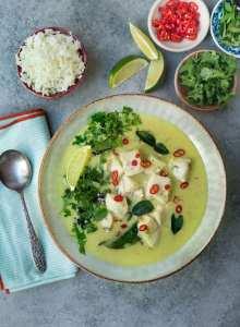 Green Thai Barramundi Curry