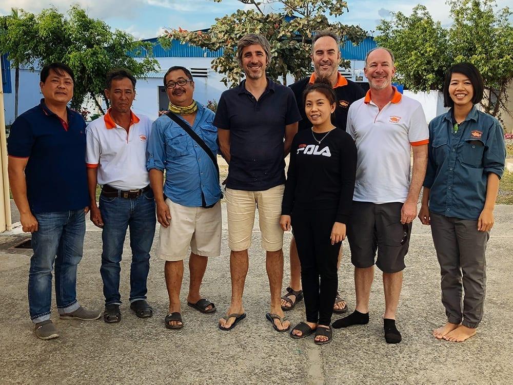 Australis Aquaculture Greener Grazing Team