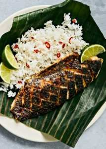 Broiled Barramundi with Sambal