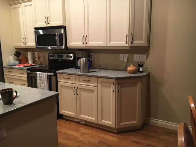 Before- Refacing Stove