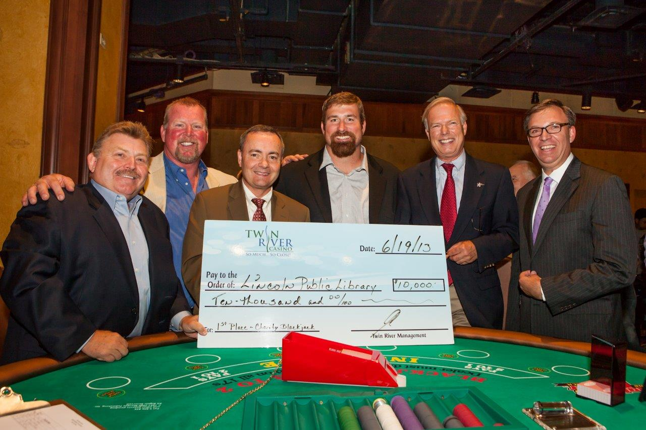 Twin River Casinos Ribbon Cutting For Table Games  The Beverage Journal