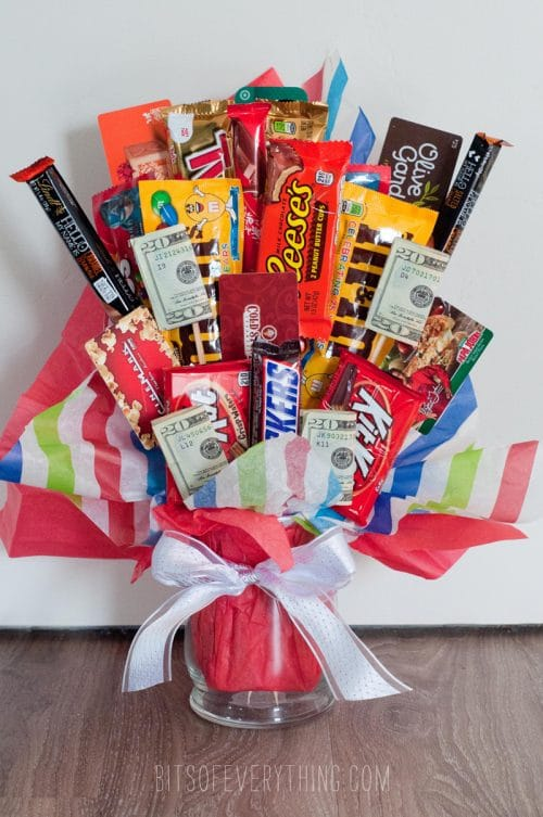 Candy Bouquets Amp How Tos Easy DIY Gift Idea The