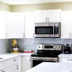 Kitchen Cabinet Home Depot Elkay Sink I Survived My Diy Renovation Before Afters The This All White Was Result Of A Using S