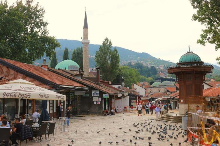 Sarajevo old town.