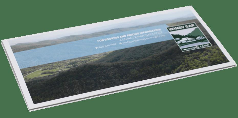 Windy Gap Mailing Brochure