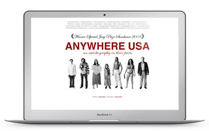 Anywhere USA Website Homepage Design
