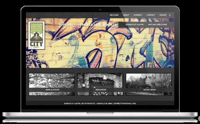 City Church Website Design