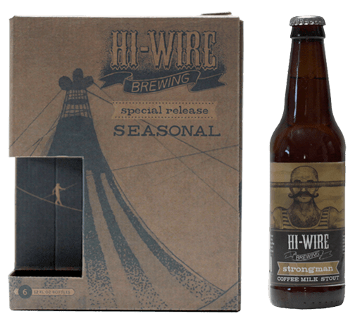 Hi-Wire Brewing Seasonal Package Design