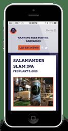Mobile Canning Mobile Website Design