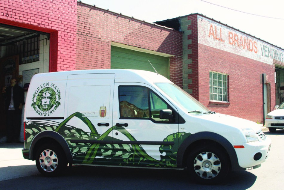 Next Generation Beer Small Van Wrap
