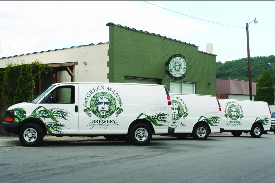 Next Generation Beer Large Van Wraps