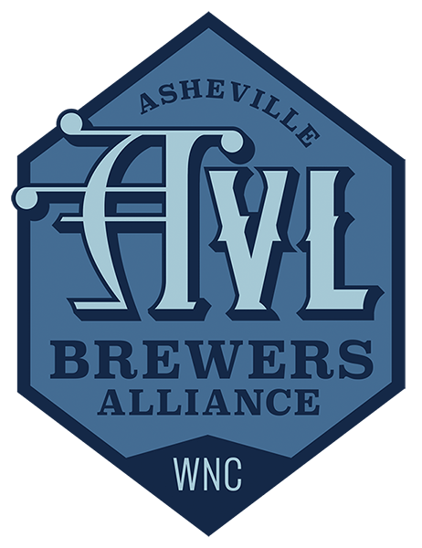 Asheville Brewers Alliance Alternative Logo Blue