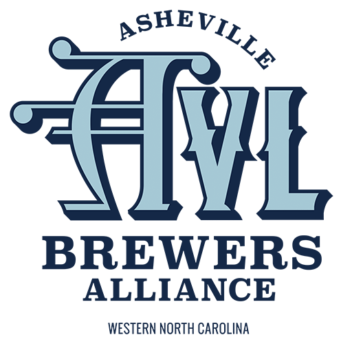 Asheville Brewers Alliance Logo Design Blue