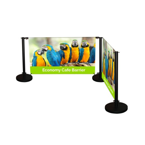 Economy Cafe Barrier - The Big Display Company