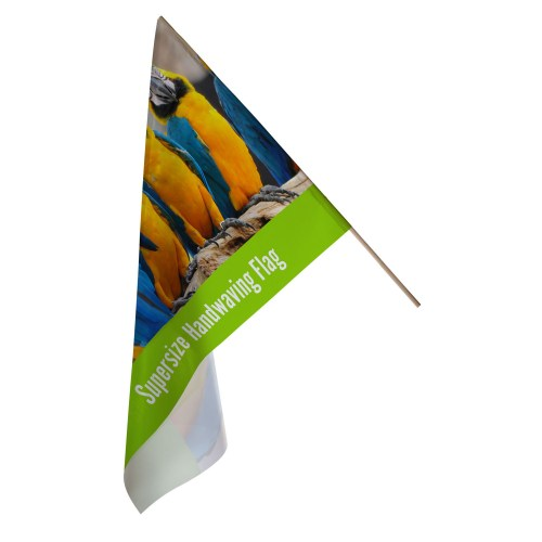 Super Size Hand Waving Flag - The Big Display Company