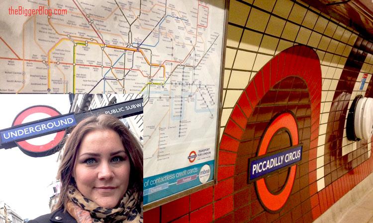 Curvy shoppen in Londen