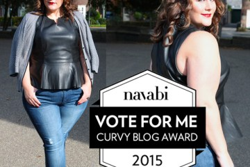 vote for me ♥ Curvy Blog Awards