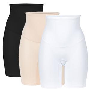 Korte legging onder jurk