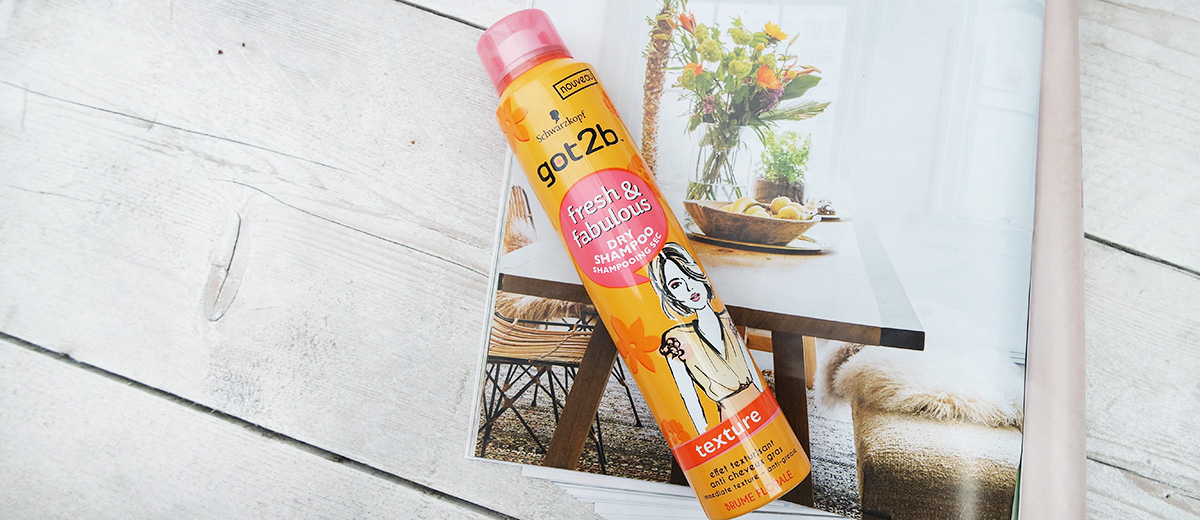 review: got2b dry shampoo fresh & fabulous