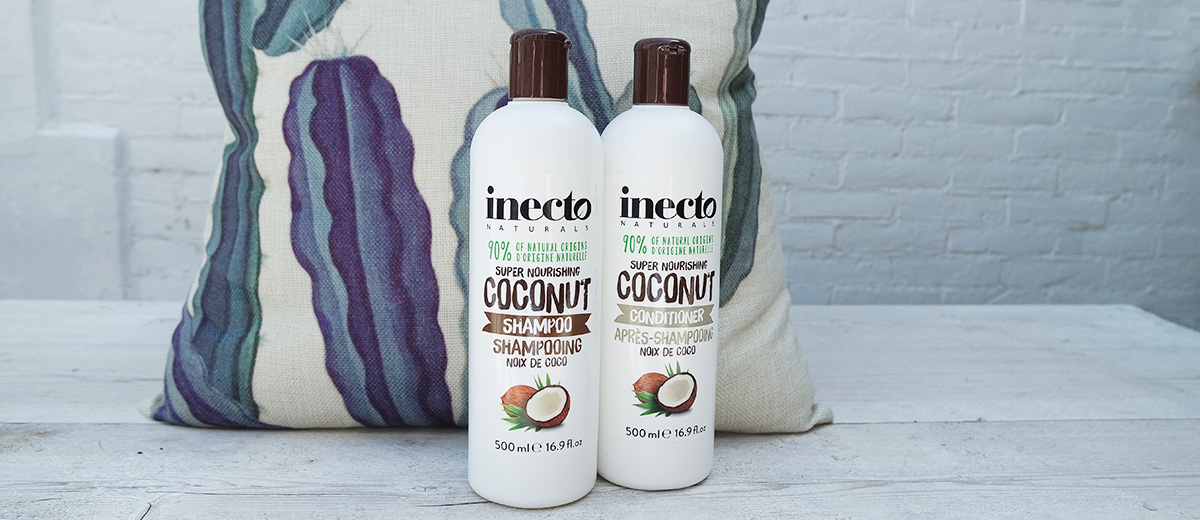 inecto coconut shampoo & conditioner