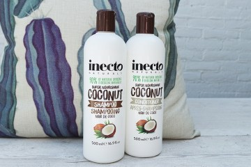 inecto shampoo & conditioner