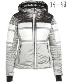 zilveren skijas
