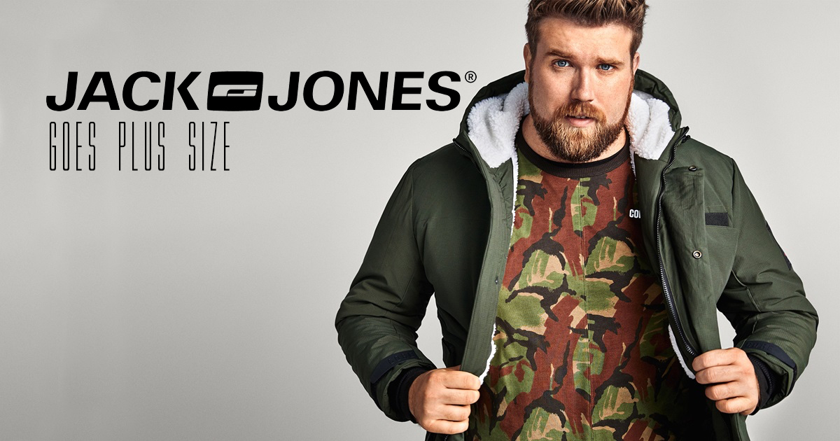 Jack & Jones adds plus size