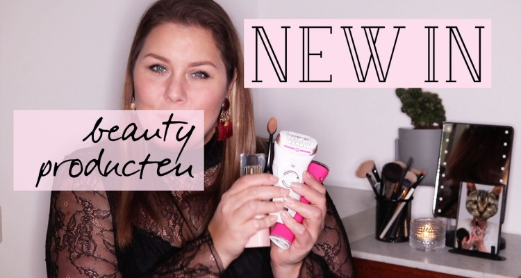 new in: beauty producten januari 2018