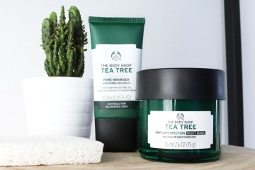 the body shop tea tree