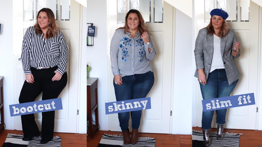 3 jeans, 3 styles