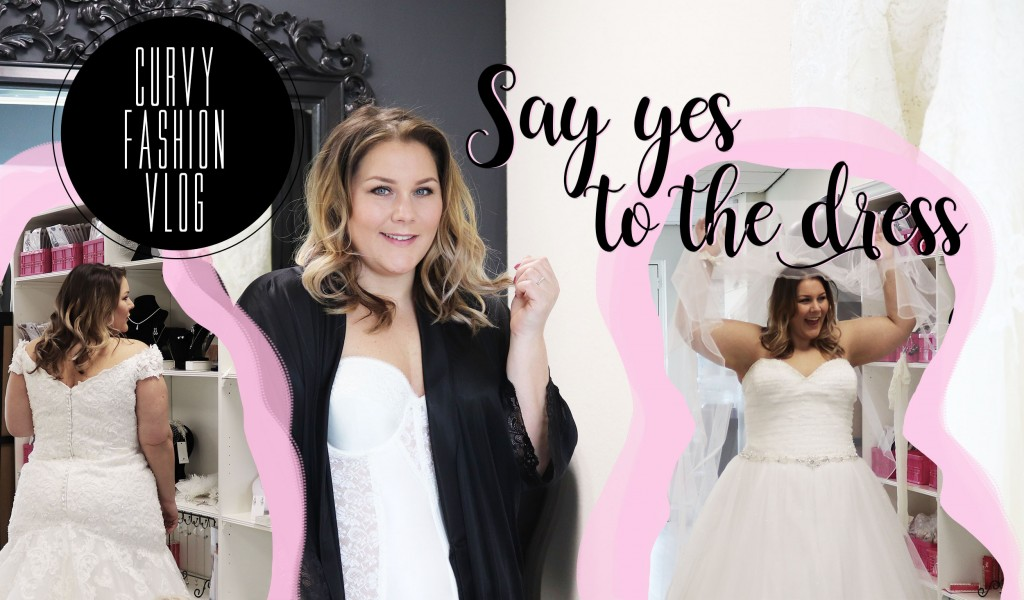 say yes to the dress [curvy fashion vlog]