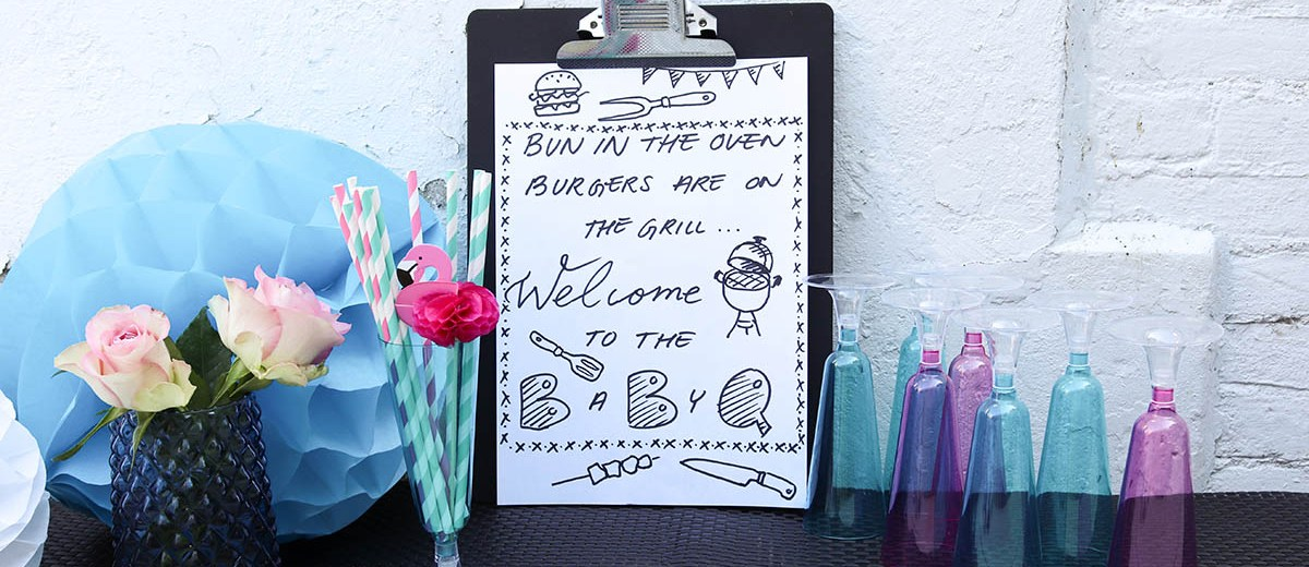 all about our gender reveal party! | theBiggerBlog com
