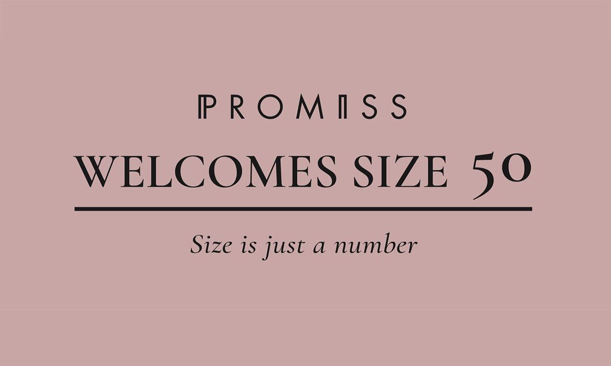 kledingmerk Promiss nu tot en met maat 50