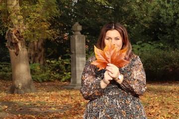 chiffon in herfstkleuren