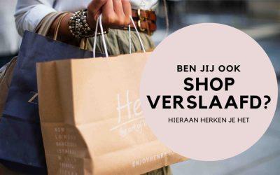 blog over shop verslaafd en hoe je het kunt herkennen