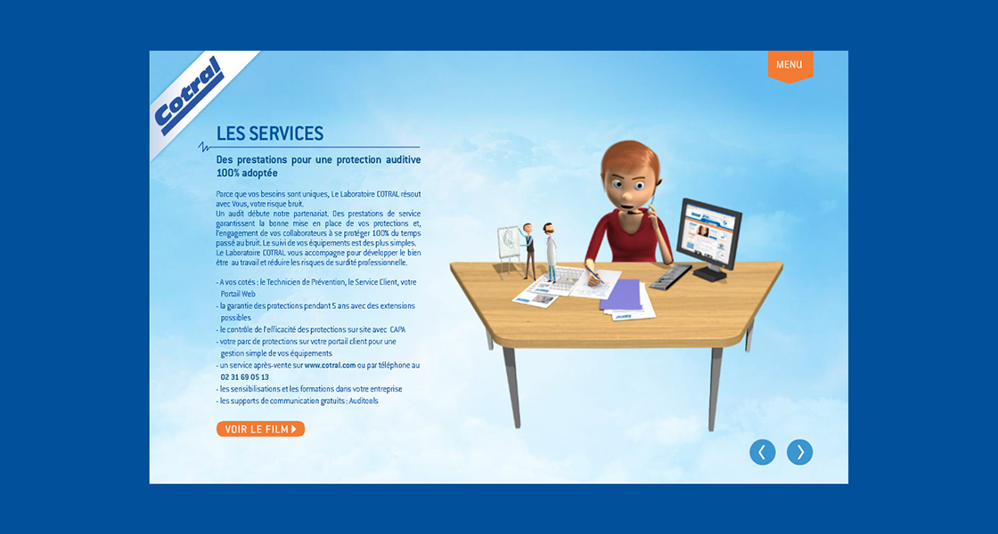 presentation-interactive-agence-communication-limoges-tbo-site-cotral-services