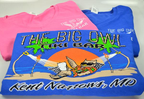 The Big Owl Ladies Tshirts