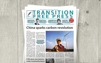Transition Free Press 3 (Autumn 2013) – China sparks carbon revolution