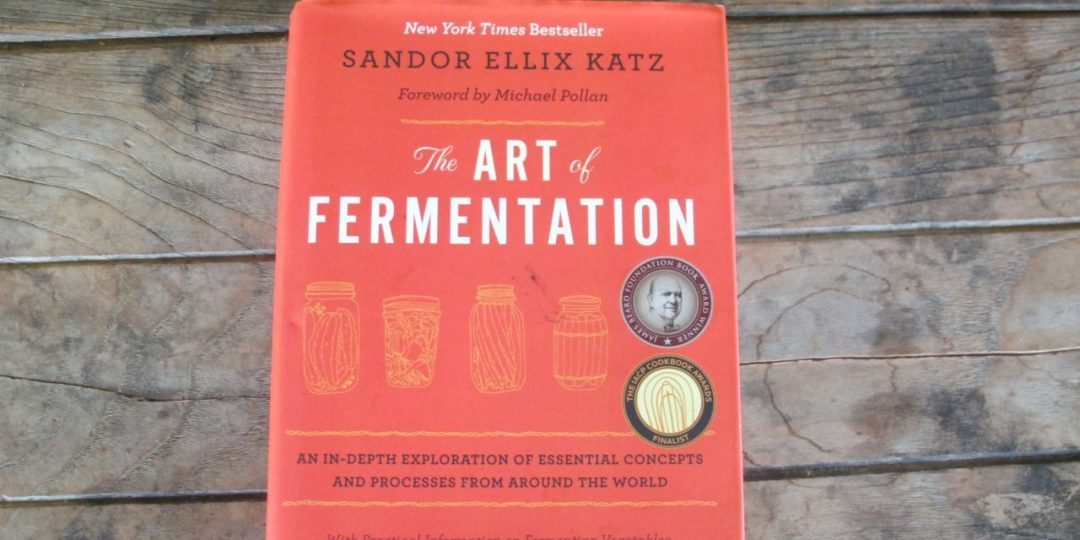 "Cover of ""The Art of Fermentation"" by Sandor Ellix Katz"