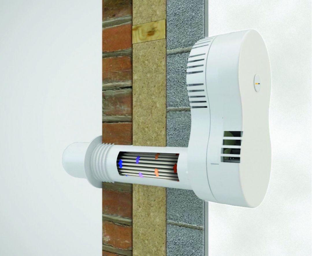 HeatSava single room ventilation with heat recovery