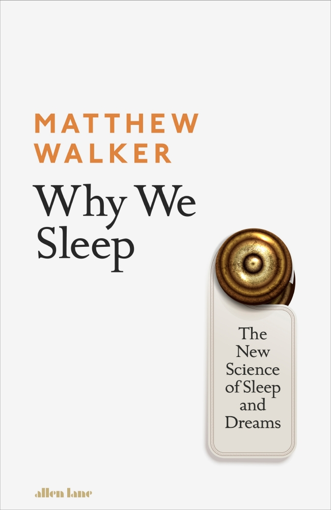 Cover of Why We Sleep by Matthew Walker