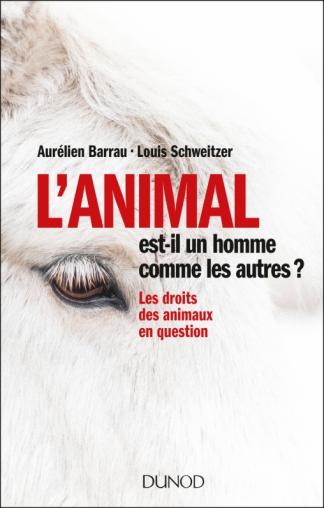 """couverture de livre """"L'animal est-il un omme comme les autres"""""""