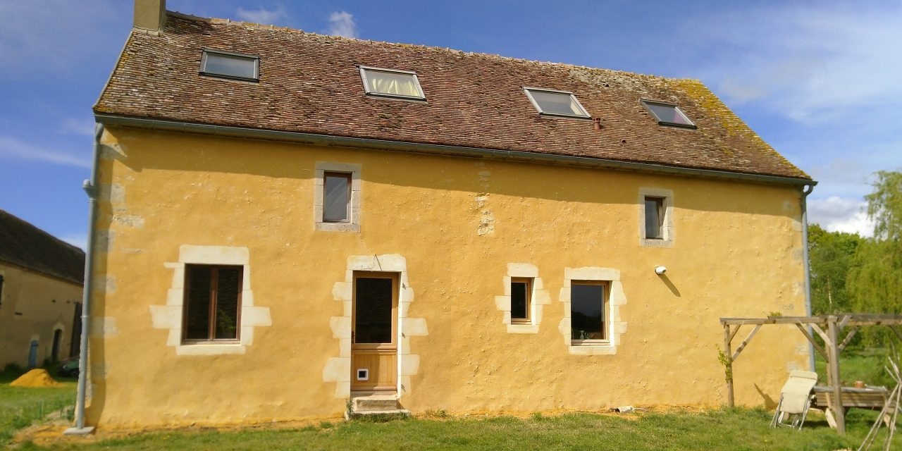 Building the dream – mostly in yellow!