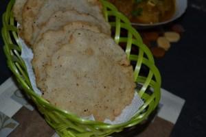 Neypathal/ Neypathiri ~ Deep Fried Rice Puris