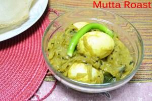 Malabar Mutta Roast ~ Malabar Style Egg Roast